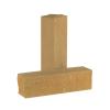 Кирпич тычковый гиперпрессованный цвет песчаник